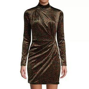Black Halo • Briar Leopard Dress